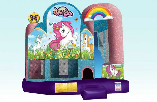 Unicorn 4 in 1 Bouncy House